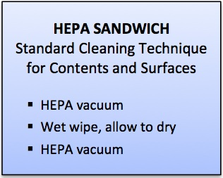 Removing Mold Contamination with HEPA Vacuum