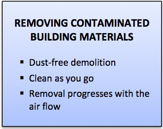 Removing Mold Contaminated Building Materials